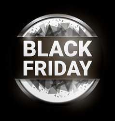 happy black friday concept background cartoon vector image