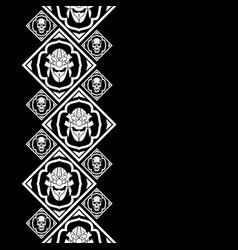New pattern 2019 skull 0005 vector