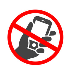 ringing smartphone icon mobile phone ringing or vector image