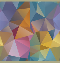 seamless polygonal geometric pattern vector image
