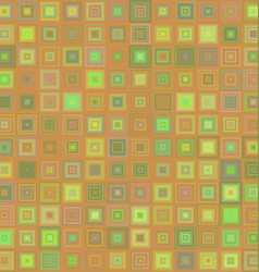 Abstract concentric square mosaic background vector image vector image