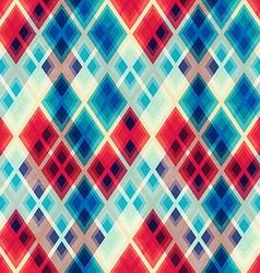 crystal mosaic seamless pattern vector image