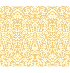 Seamless yellow pattern on white background vector image vector image