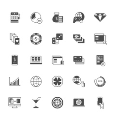 Set Icons Online Gaming vector image vector image