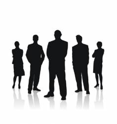 business people team vector image