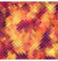 Mosaic orange abstract EPS 10 vector image
