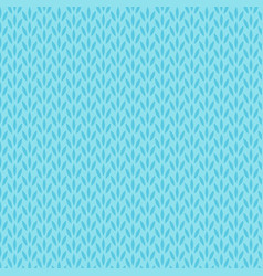 abstract blue floral seamless pattern background vector image