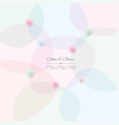 Abstract pattern background in pastel colors vector