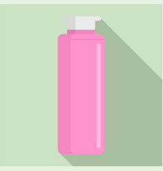 dispenser bottle icon flat style vector image