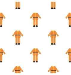 Firefighter uniform icon cartoon pattern vector