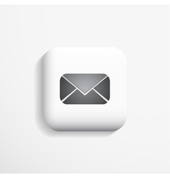 Mail 3d Icon vector