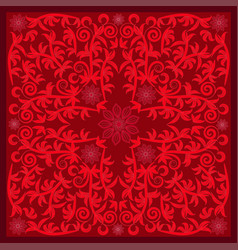 red bandana image vector image