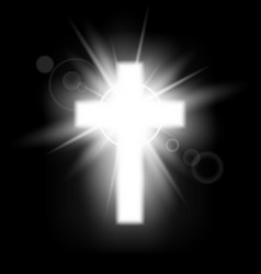 Riligious saint three crosses christian heaven vector