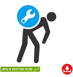 Service Courier Eps Icon vector