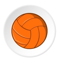 Volleyball icon cartoon style vector image
