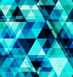blue crystal seamless pattern vector image vector image