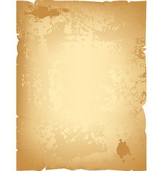 Aged paper vector image