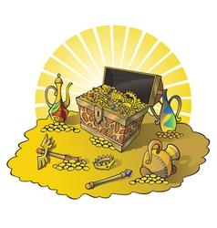 treasures vector image