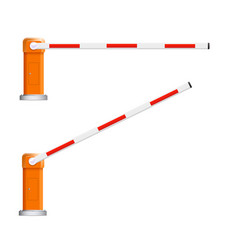Barrier flock detailed open and vector