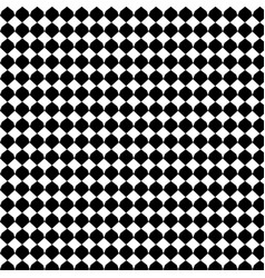 Black geometric seamless pattern background vector