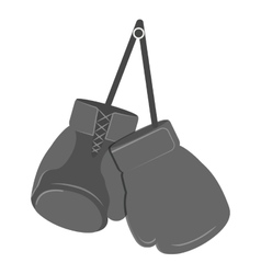 glove boxing equipment isolated icon vector image vector image