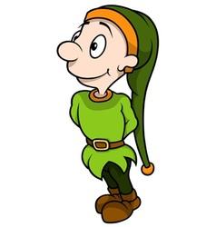 Green Dwarf Standing vector