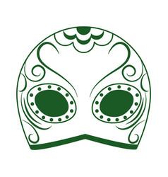 Mask wrestling cinco de mayo mexican vector