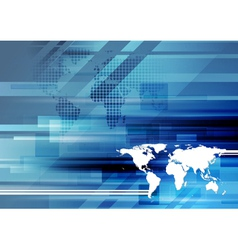 Modern hi-tech background vector image