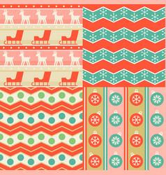 seamless pattern wallpaper christmas ball vector image