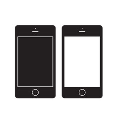 smartphone icon mobile flat sign vector image