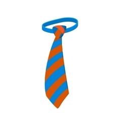Tie icon cartoon style vector