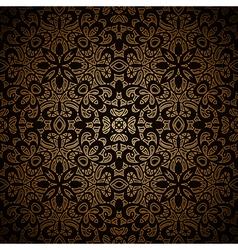 Vintage gold pattern vector
