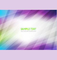 Violet abstract on white background vector