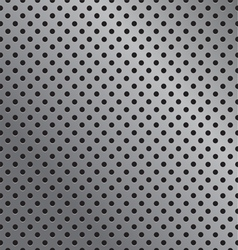 Spotted Metallic Surface vector image