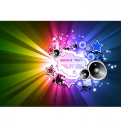 disco background for flyers vector image vector image