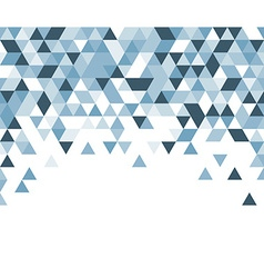 Blue and white abstract background vector image