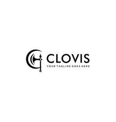 C clovis logo vector