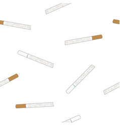 Cigarette original and light flavour seamless vector