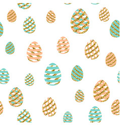 easter greeting seamless vector image