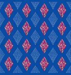 hand drawn ornament pattern geometric vector image