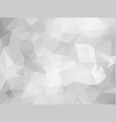 low poly gray pattern vector image