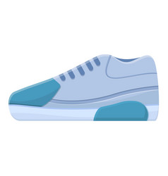 Nike sneakers icon cartoon style vector