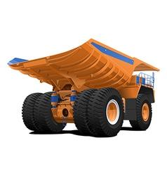 Tipper dumper Dump truck vector