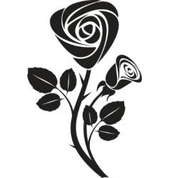 vector rose art illustration vector image vector image