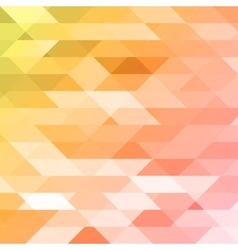 Colorful pink orange green polygonal background vector image vector image