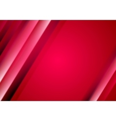Red crimson abstract blurred stripes background vector image vector image
