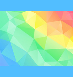 abstract color polygonal pattern vector image