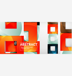 Abstract squares geometric background can be used vector