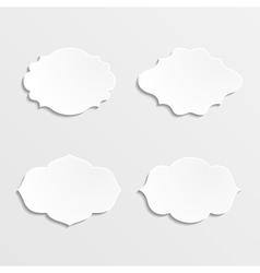 Set of farmes vector image vector image