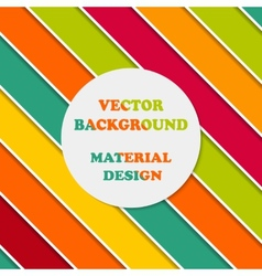 Wallpapers for mobile OS in style material design vector image vector image